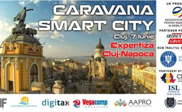 Caravana Smart City este unicul program de promovare a conceptelor Smart City