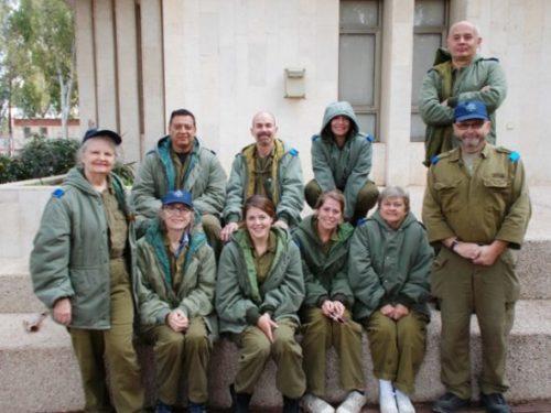 voluntari pentru israel